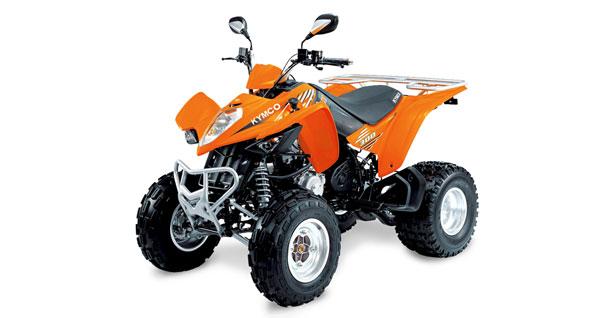 ATV 250-350cc | Kymco MXU