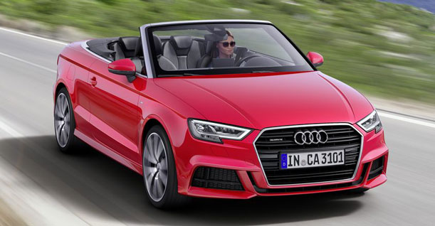 Group K3 Convertible Family Subcompact | Audi A3