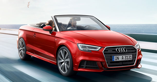 Κατηγορία L Αυτόματο Κάμπριο Οικογενειακό Subcompact | Audi A3