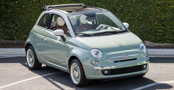 Group K Convertible Economy | Fiat 500 Cabrio