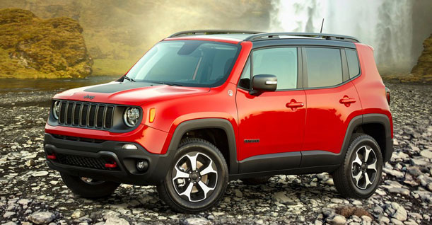 Group G3 Subcompact Crossover SUV | Jeep Renegade Automatic Diesel