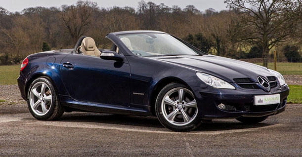 Group M Convertible Luxury Coupe | Mercedes Benz SLK 200