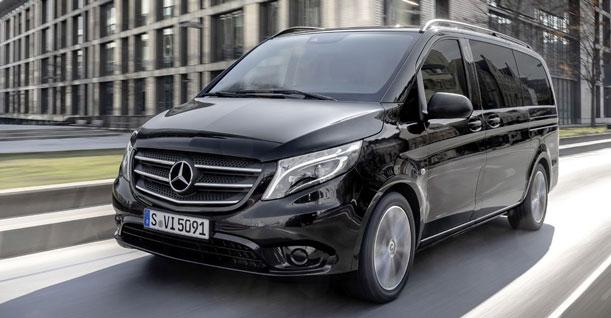 Groep I1 Minibus 9 Zitters Luxe Diesel | Mercedes Vito of soortgelijke
