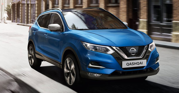 Group G1 Crossover SUV | Nissan Qashqai or similar