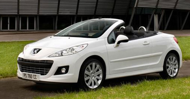 Group K1A Convertible Compact | Peugeot 207 Automatic
