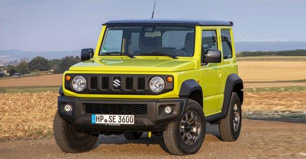 Groep G 4WD | Suzuki Jimny of soortgelijke