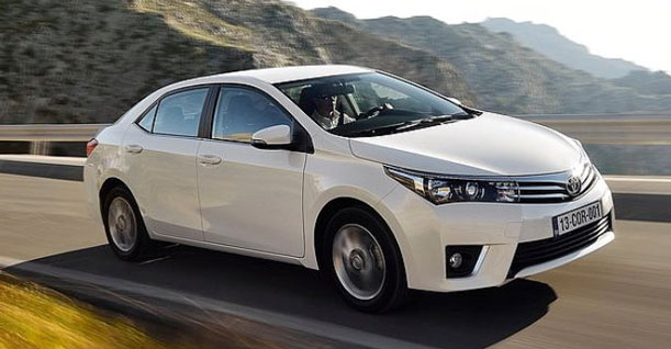 Groep F Sedan Diesel | Toyota Corolla of soortgelijke