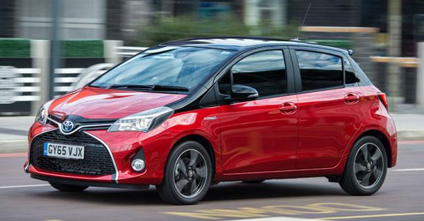 Groep E1 Gezin Automatisch | Toyota Yaris of soortgelijke