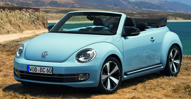 Group L1 Convertible Automatic | VW Beetle New or similar