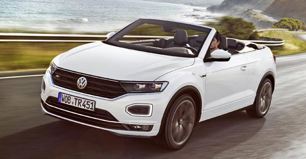 Group L3 Convertible | VW T-Roc or similar